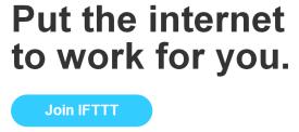 join ifttt