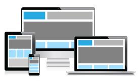 Grafisk bilde av responsivt design