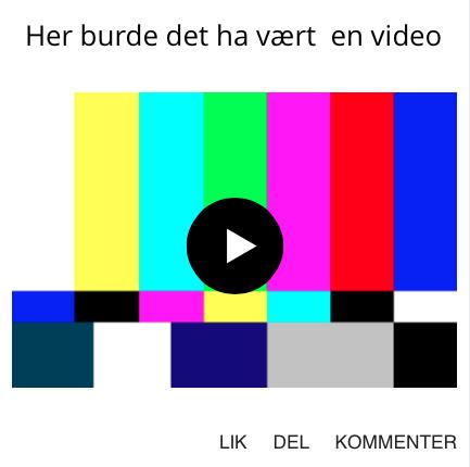 grafikk her burde det vært en video videomarkedsføring
