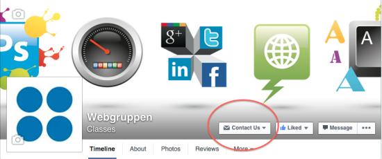 Legg til en CTA-knapp på din bedriftside på Facebook