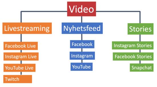 Bruk av video i markedsføring på nett