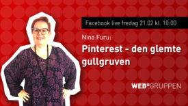 Coverbilde Pinterest live