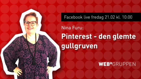 Coverbilde Pinterest live