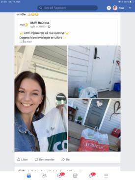 facebook-post fra amfi