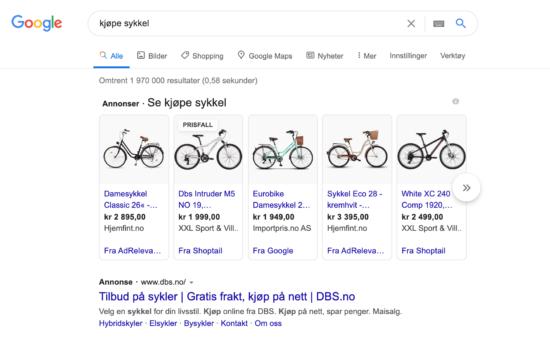 proguktannonser på google ads